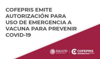 Cofepris autoriza uso de emergencia de la vacuna anticovid de Moderna