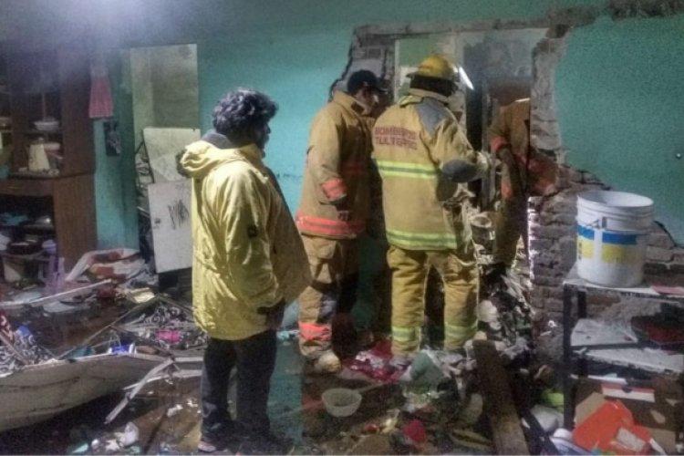 Se registra explosión de un polvorín clandestino en Tultepec