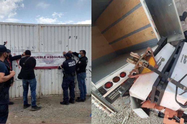 Recuperan vehículos y Mercancía robada valuada en 300 mil pesos en Tecámac