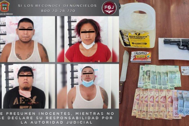 Cae Banda de extorsionadores en Ecatepec; intentaron incendiar combi