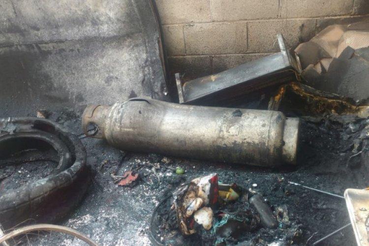 Explosión de tanque de gas en Atizapán acaba con la vida de abuelita