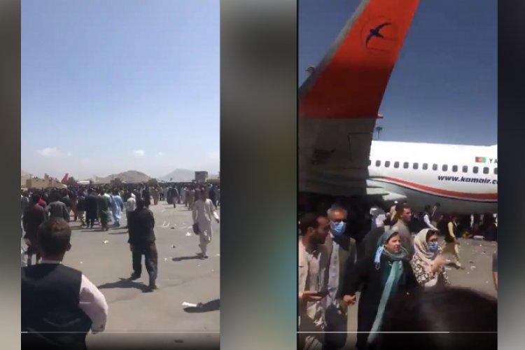 Marea humana huye de Afganistán tras toma de poder de talibanes