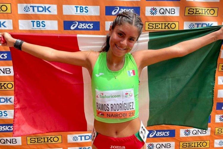 ¡Orgullo mexicano! Sofía Ramos gana el oro en mundial sub-20 de atletismo