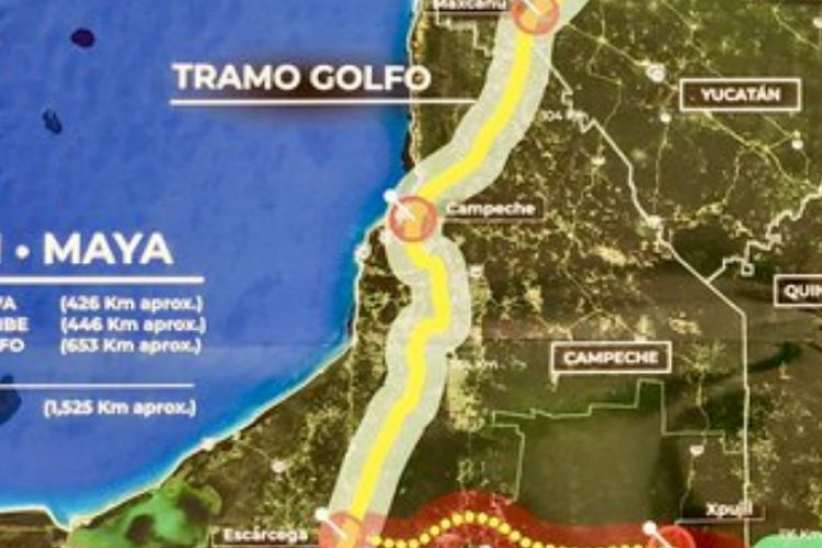 Cambian ruta de Tren Maya, ya no pasara por la ciudad de Campeche