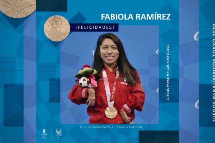 Fabiola Ramírez gana la primera medalla para México en los paralímpicos de Tokio 2020