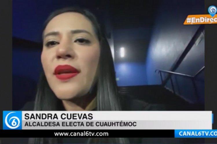 """""""Las amenazas no me achican"""": alcaldesa electa de Cuauhtémoc"""