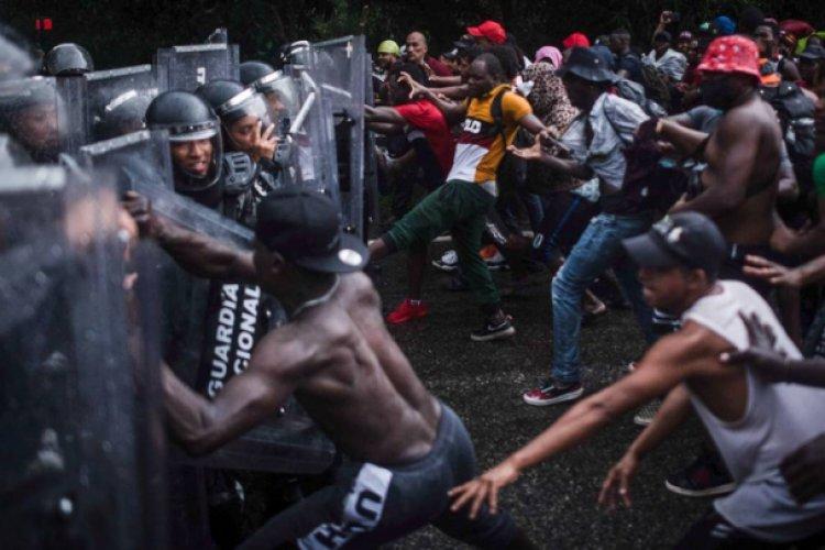 Mientras avanza, nueva caravana migrante denuncia abusos y represión