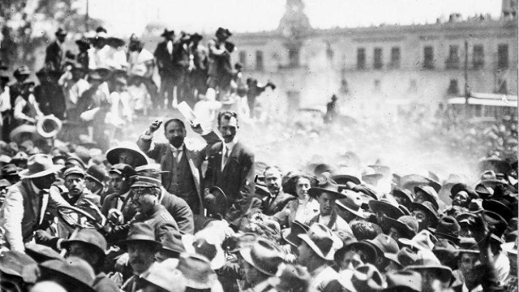 La Revolución de los trabajadores. La Revolución pendiente de la historia nacional.
