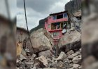 Se desgaja cerro del Chiquihuite, en Tlalnepantla