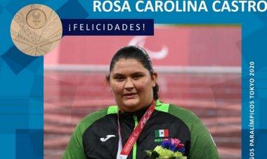 Tokio 2020: Rosa Castro gana la medalla 22 para México en lanzamiento de disco