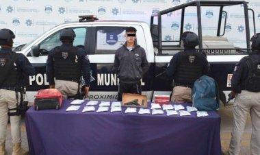 Capturan a estudiante en Puebla con arsenal