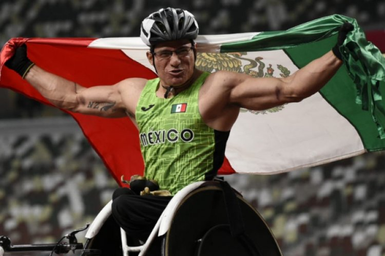 Juan Pablo Cervantes obtiene bronce en paralímpicos