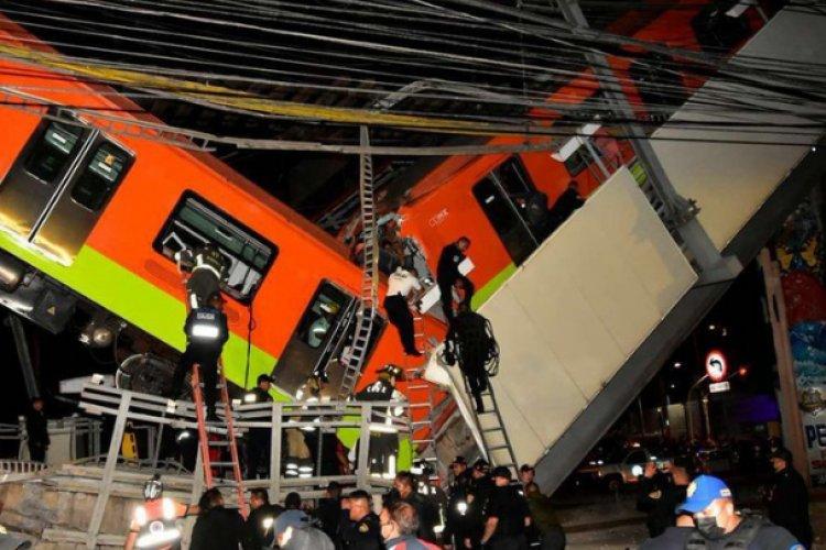 Desplome de metro fue por pandeo de vigas y falta de pernos sigue sin haber culpables
