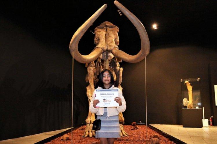 Ya tiene nombre el mamut del museo de Antropología e Historia en Toluca