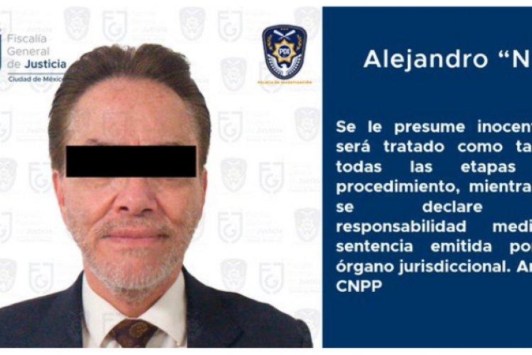 Capturan a Alejandro del Valle, mayor accionista de Interjet