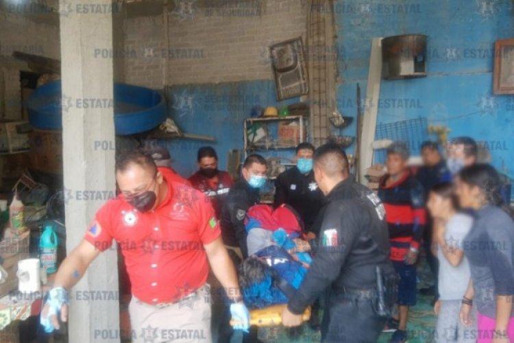 Rescatan a hombres atrapados en cisterna