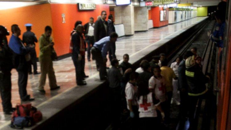 Persona se suicida en Metro Centro Médico