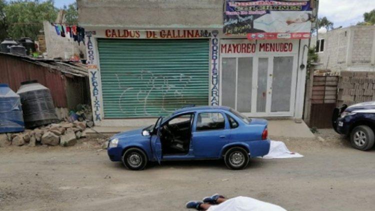Acribillan a joven en Los Reyes La Paz