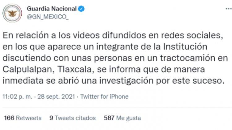 Video: agente de la GN extorsiona a trailero