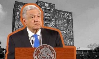 AMLO redobla ataques contra la UNAM
