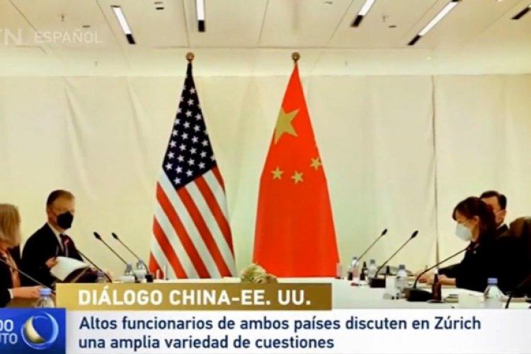 Altos funcionarios de China y EE.UU.  se reúnen en Zúrich para buscar un mejor entendimiento mutuo