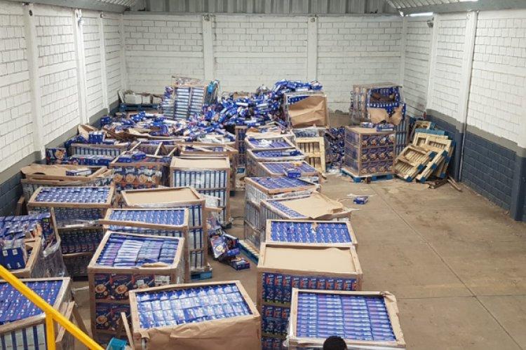 Recuperan mercancía robada valuada en 750 MP