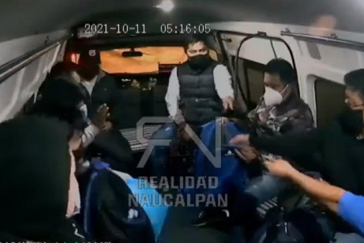 """""""Teléfonos a la mano"""", amaga asaltante en Naucalpan"""