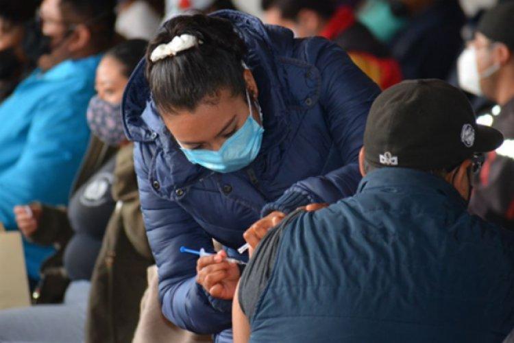 Valle de Chalco: Más de 24 mil mayores de 30 años vacunados