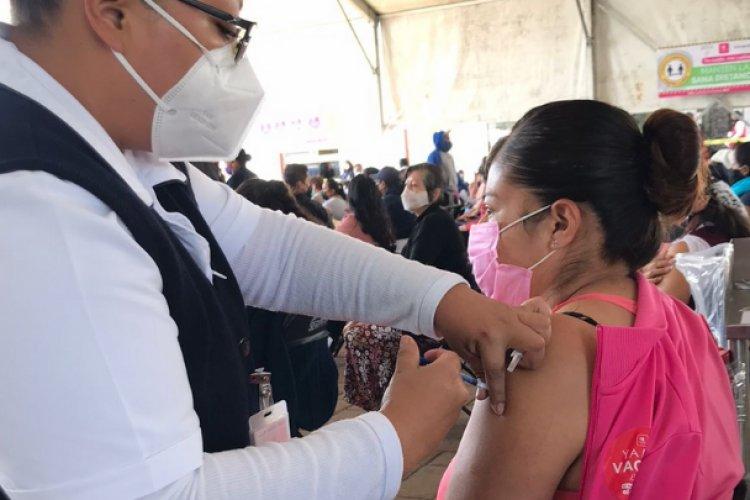 Llegan segundas dosis para treintañeros en Ixtapaluca