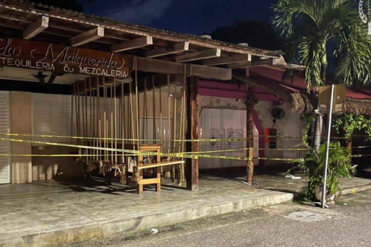 Balacera en bar de Tulum deja dos turistas muertos