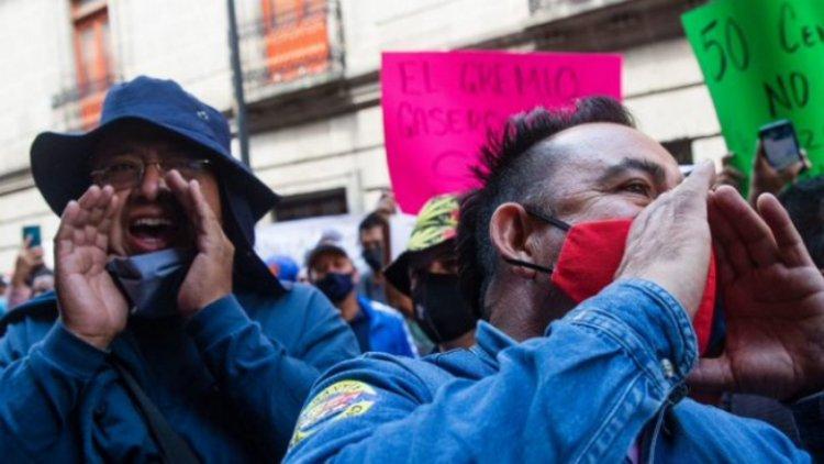 Gaseros se van a paro en Valle de México