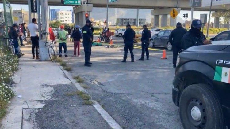 Ciclista muere arrollado en Toluca