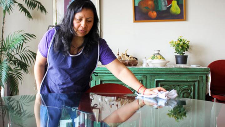 Pandemia ha dejado sin trabajo al 33% de las empleadas del hogar